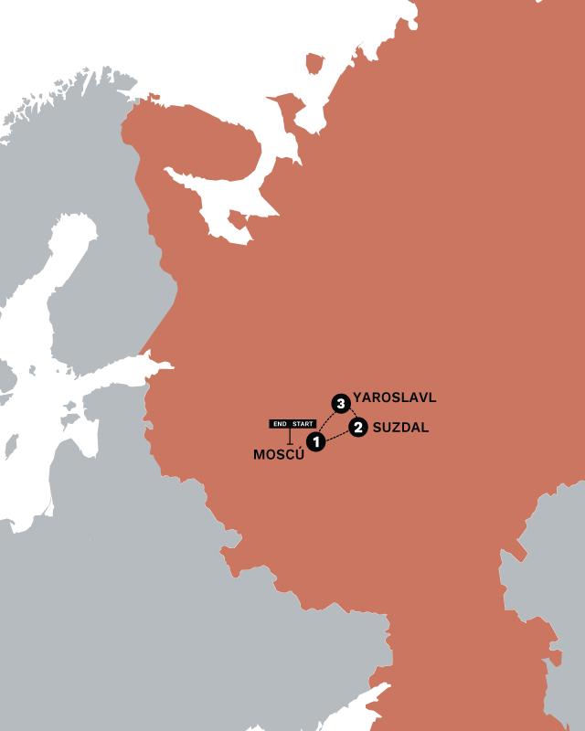 EXTALRUS Map