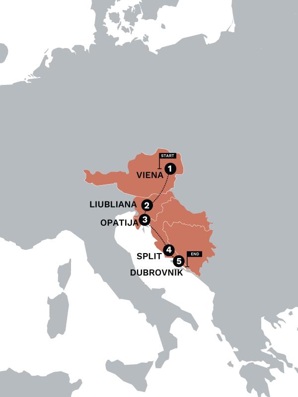 VIEDUB Map